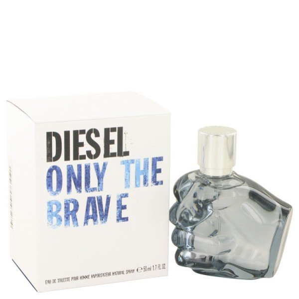 eau de toilette spray only the brave de diesel en 50 ml pour homme. Black Bedroom Furniture Sets. Home Design Ideas