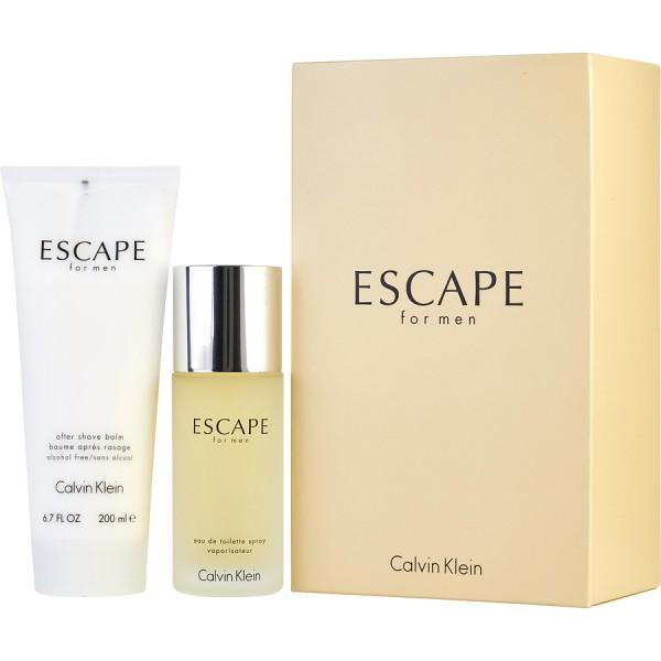 Escape pour homme -  coffret cadeau 100 ml