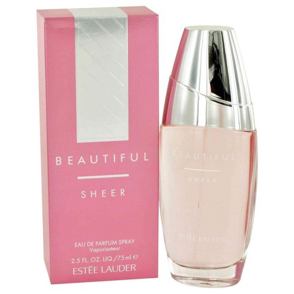 Beautiful sheer de estée lauder eau de parfum spray 75 ml