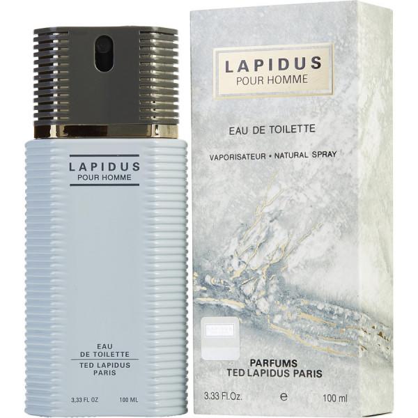 Lapidus - ted lapidus eau de toilette spray 100 ml