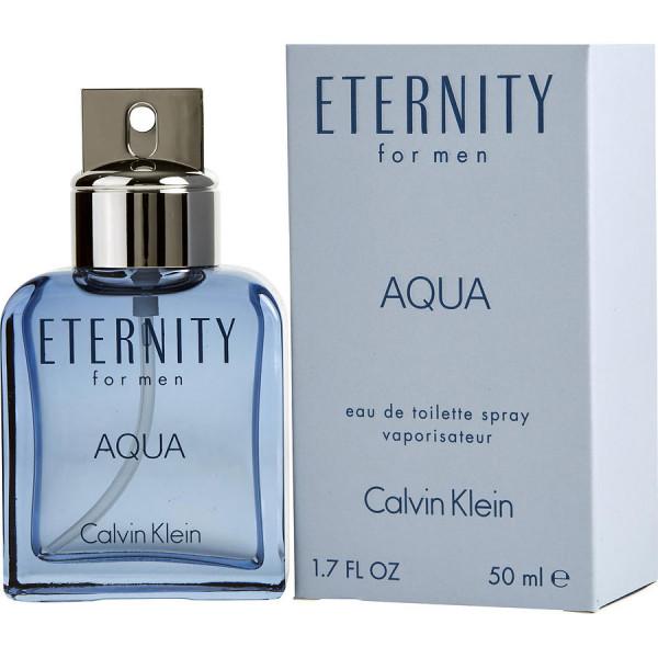 Eternity aqua -  eau de toilette spray 50 ml