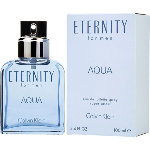 Eternity aqua -  eau de toilette spray 100 ml