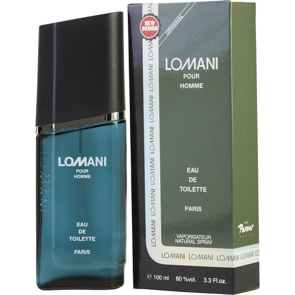 Lomani - Lomani Eau De Toilette Spray 100 ML. Launched by the design house of Lomani in 1987 LOMANI is classified as a sharp spicy lavender amber fragrance. This masculine scent possesses a blend of crisp citrus spice and wood very refreshing. It is recommended for casual wear.