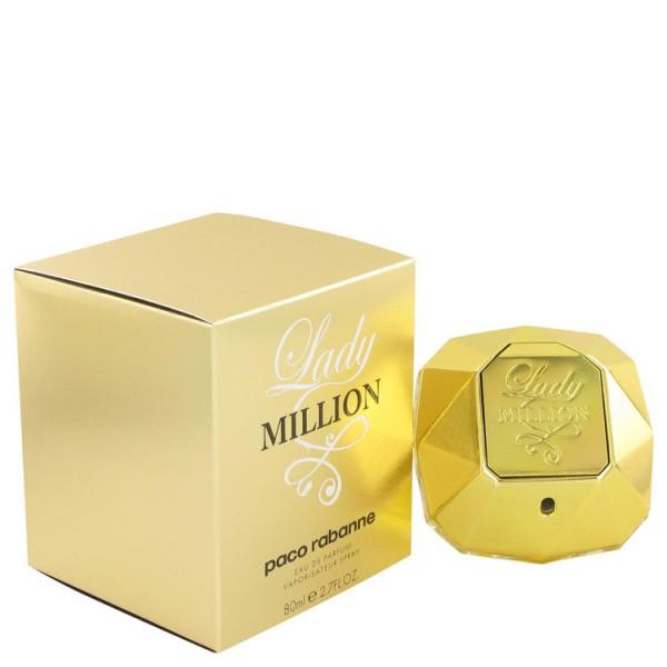 Lady million -  eau de parfum spray 80 ml
