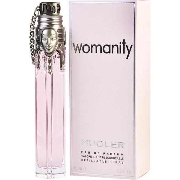 Womanity - thierry mugler eau de parfum spray 80 ml