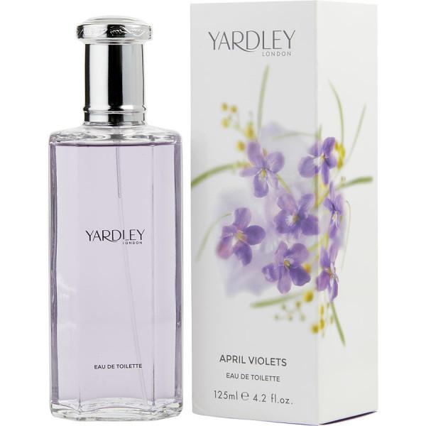 April violets -  eau de toilette spray 125 ml