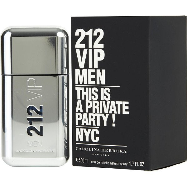 212 vip men -  eau de toilette spray 50 ml