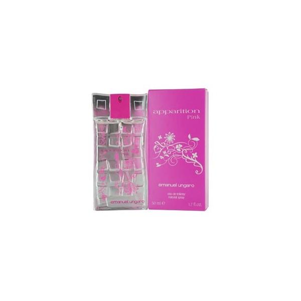 Apparition pink - emanuel ungaro eau de toilette spray 50 ml