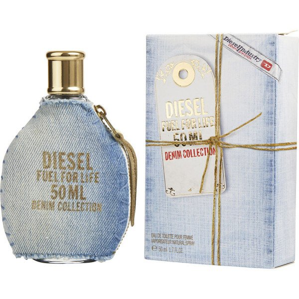 Fuel for life denim pour elle -  eau de toilette spray 50 ml