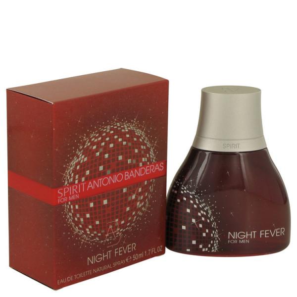 Spirit night fever -  eau de toilette spray 50 ml