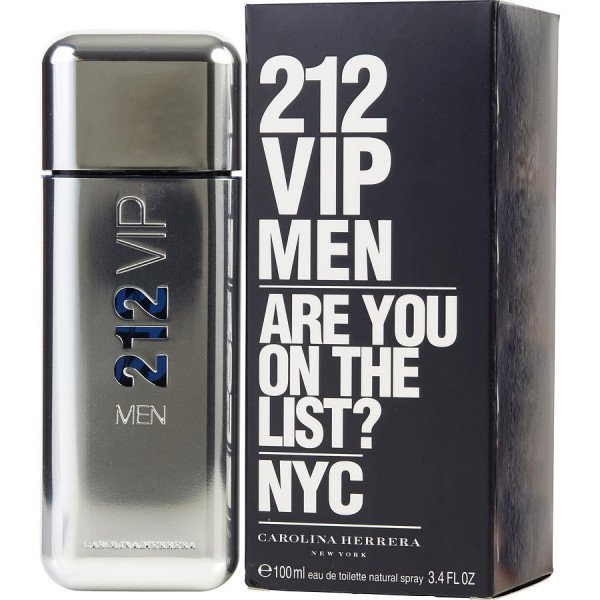 212 vip men -  eau de toilette spray 100 ml