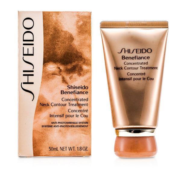 Benefiance - concentré intensif pour le cou - shiseido crème 50 ml