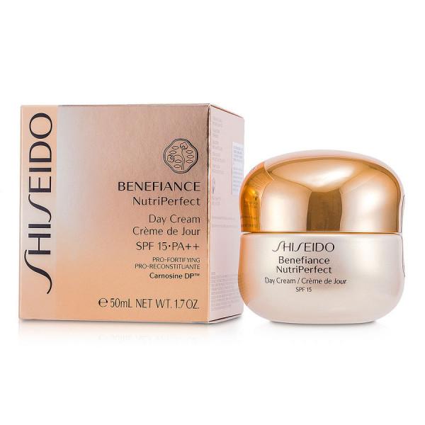 Benefiance nutriperfect - crème de jour spf 15 - shiseido crème 50 ml