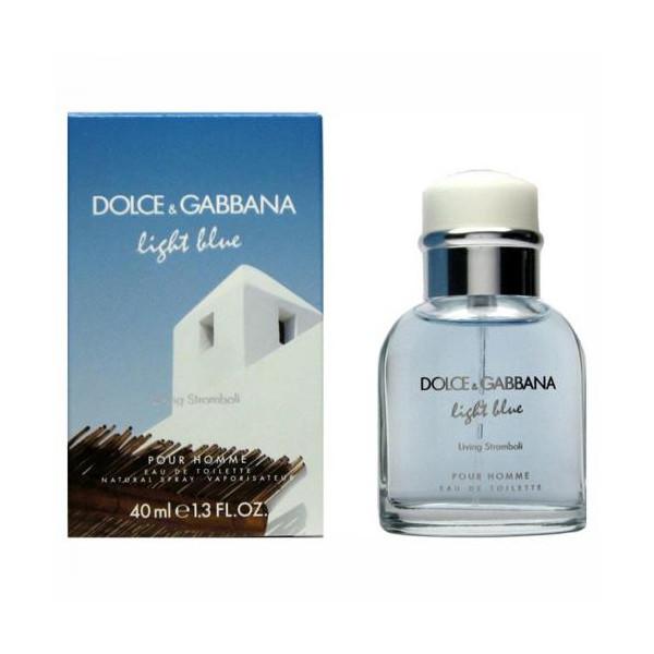 Light blue living stromboli - dolce & gabbana eau de toilette spray 40 ml