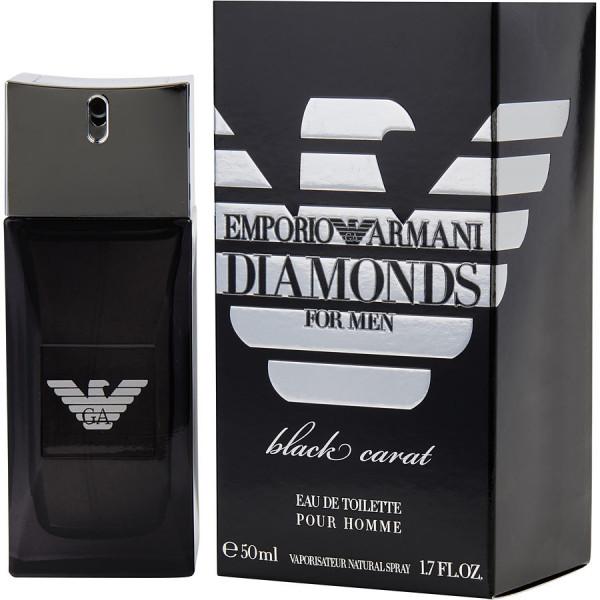 Diamonds black carat - emporio armani eau de toilette spray 50 ml