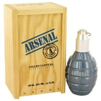 ARSENAL BLUE by Gilles Cantuel Eau De Parfum Spray 100 ml for Men for Men