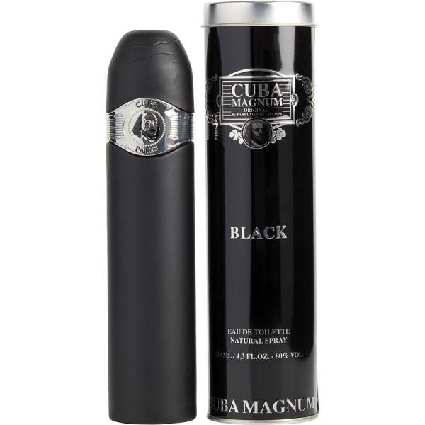 magnum black - fragluxe eau de toilette spray 130 ml