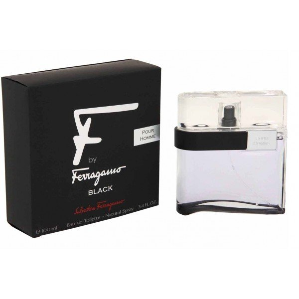 F by ferragamo black -  eau de toilette spray 100 ml