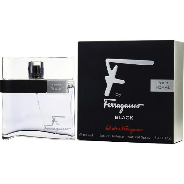 F by ferragamo black - salvatore ferragamo eau de toilette spray 100 ml