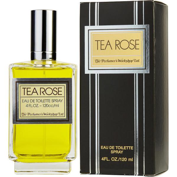 Tea rose -  eau de toilette spray 120 ml