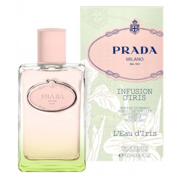 Infusion d'iris l'eau d'iris de  eau de toilette spray 100 ml