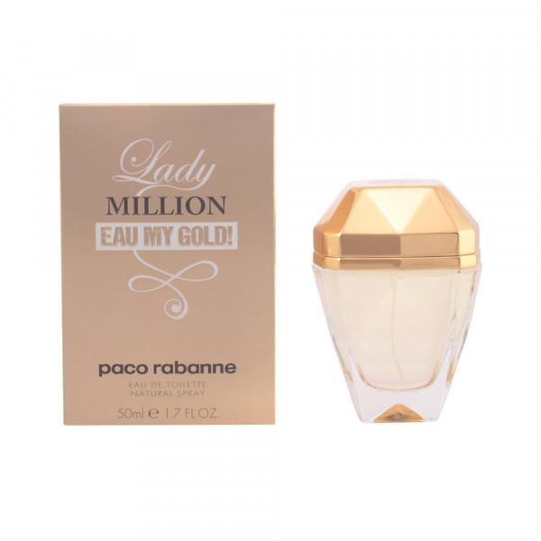 Lady million eau my gold -  eau de toilette spray 50 ml