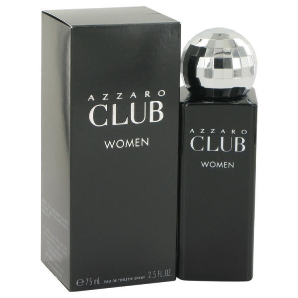 Azzaro club women -  eau de toilette spray 75 ml