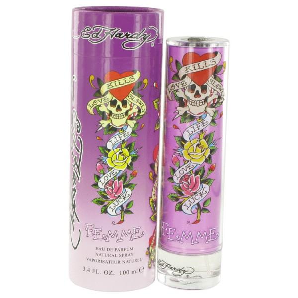 Ed hardy pour femme -  eau de parfum spray 100 ml