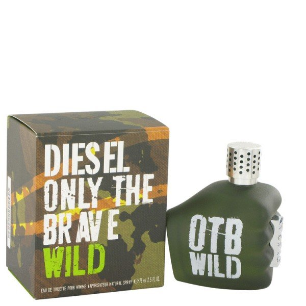 Only the brave wild -  eau de toilette spray 75 ml