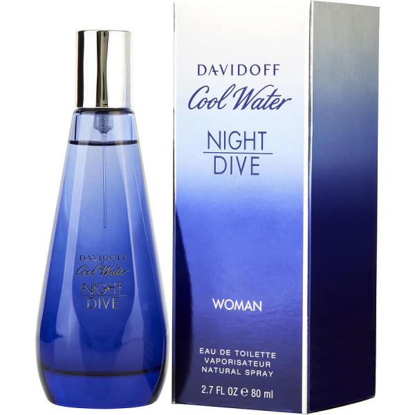 Cool water night dive woman -  eau de toilette spray 80 ml