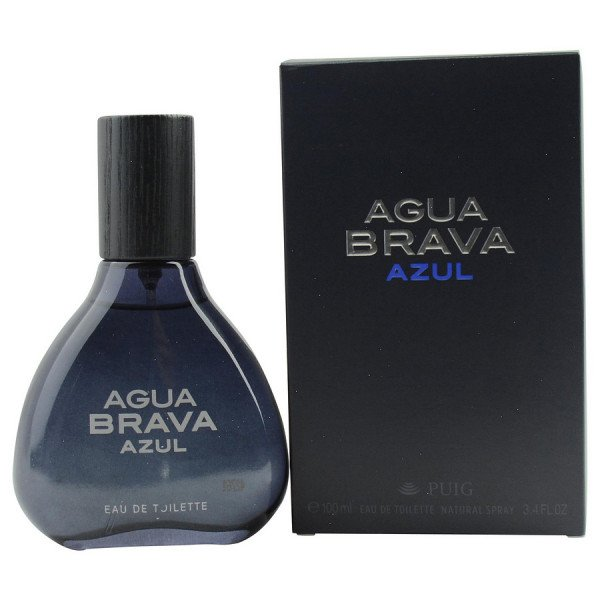Agua brava azul -  eau de toilette spray 100 ml