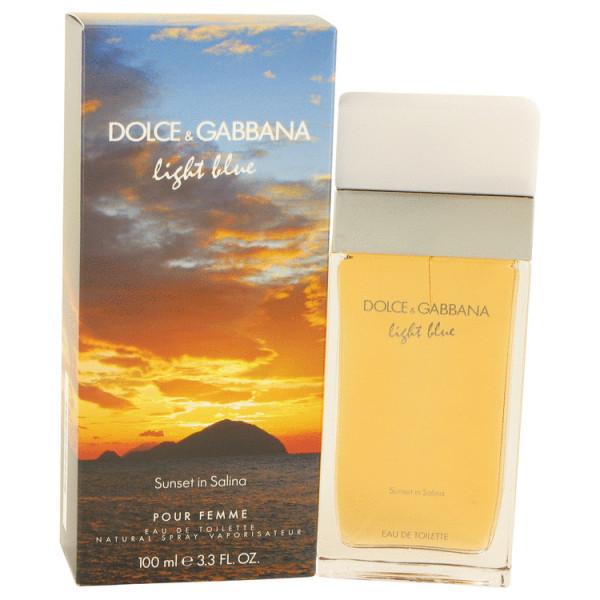 Light blue sunset in salina - dolce & gabbana eau de toilette spray 100 ml