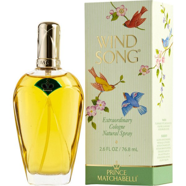 Wind song -  cologne spray 75 ml