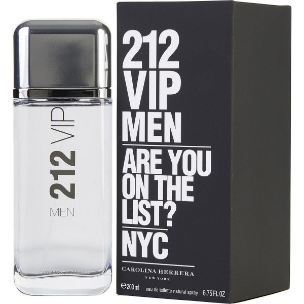 212 vip men -  eau de toilette spray 200 ml