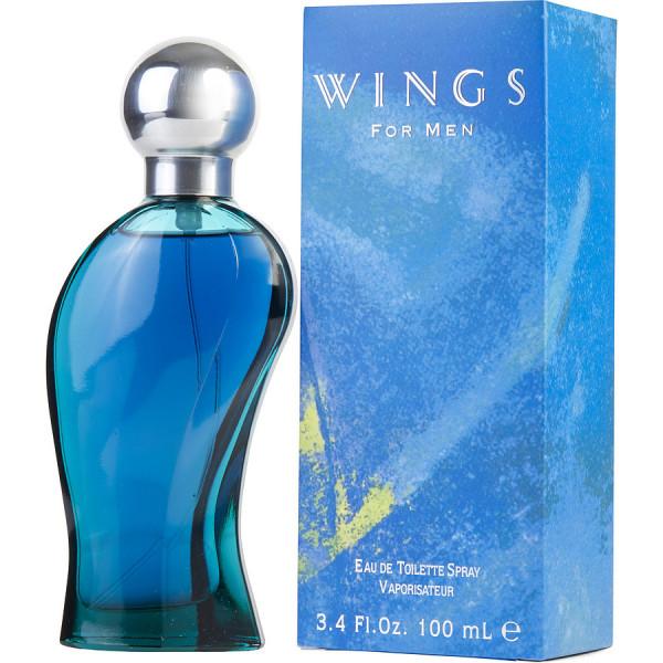 Wings pour homme - giorgio  eau de toilette spray 100 ml