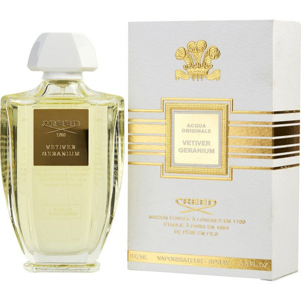 Vetiver geranium -  eau de parfum spray 100 ml