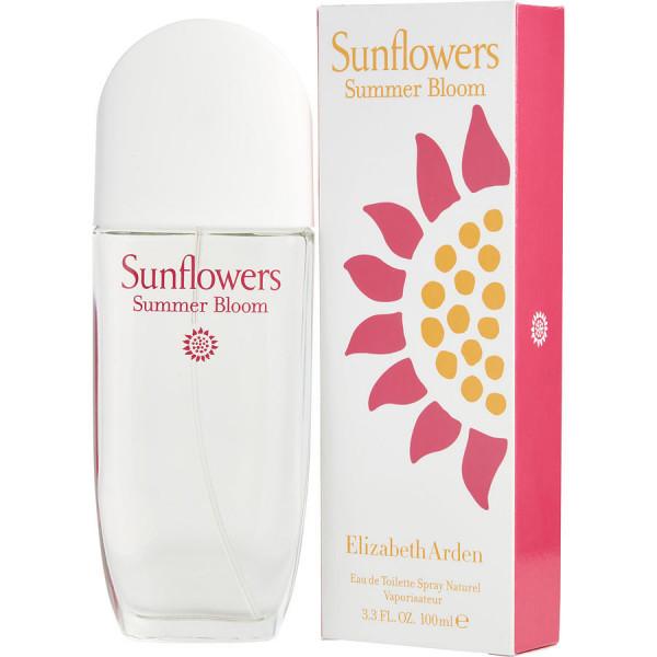 Sunflowers summer bloom - elizabeth arden eau de toilette spray 100 ml