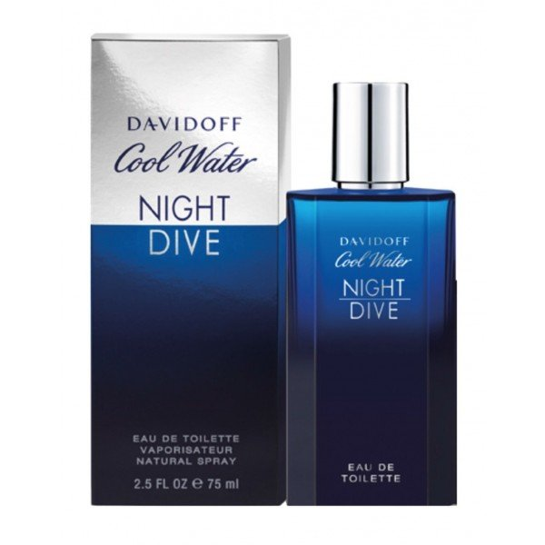 Cool water night dive de  eau de toilette spray 200 ml