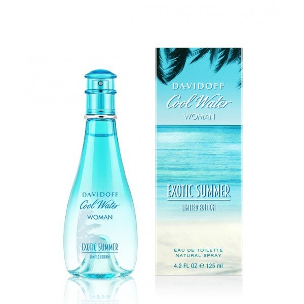 Cool water pour femme exotic summer de  eau de toilette spray 100 ml