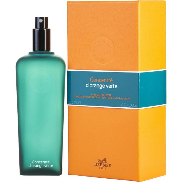 Concentré d'orange verte - hermès eau de toilette spray 200 ml