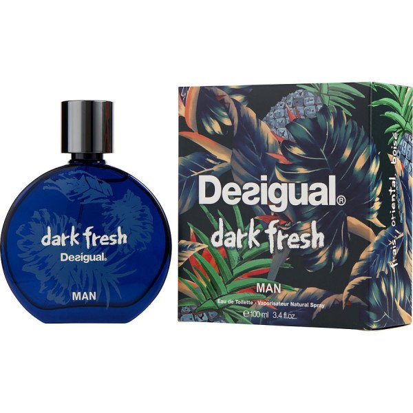Dark fresh - desigual eau de toilette spray 100 ml