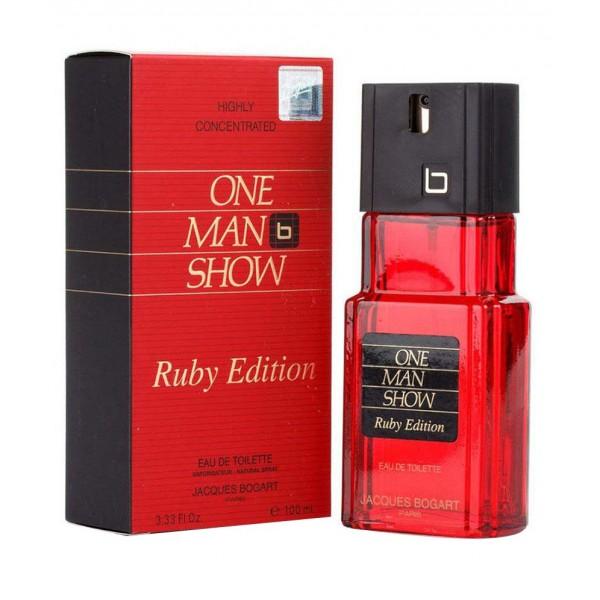 One man show ruby edition - jacques bogart eau de toilette spray 100 ml