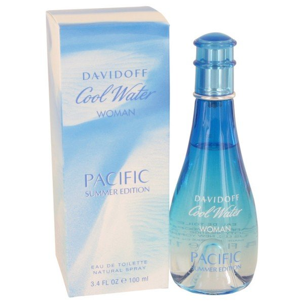 Cool water pour femme pacific summer de  eau de toilette spray 100 ml