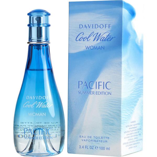 Cool water pour femme pacific summer -  eau de toilette spray 100 ml