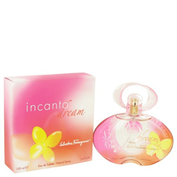 Incanto Dream De Salvatore Ferragamo Eau De Toilette Spray 100 ML. Il est maintenant temps de fermer les yeux? Incanto Dream? un univers de rêve