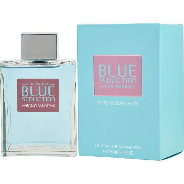 Blue seduction -  eau de toilette spray 200 ml