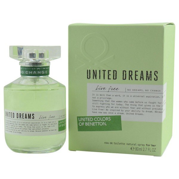 United dreams live free -  eau de toilette spray 80 ml