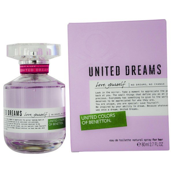 United dreams love yourself -  eau de toilette spray 80 ml
