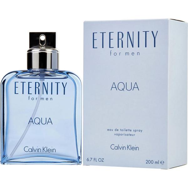 Eternity aqua -  eau de toilette spray 200 ml