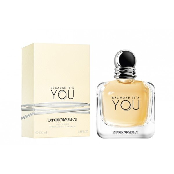 Emporio  because it's you - giorgio  eau de parfum spray 100 ml